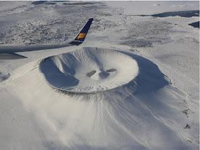 Photo: Hvarfjall crater