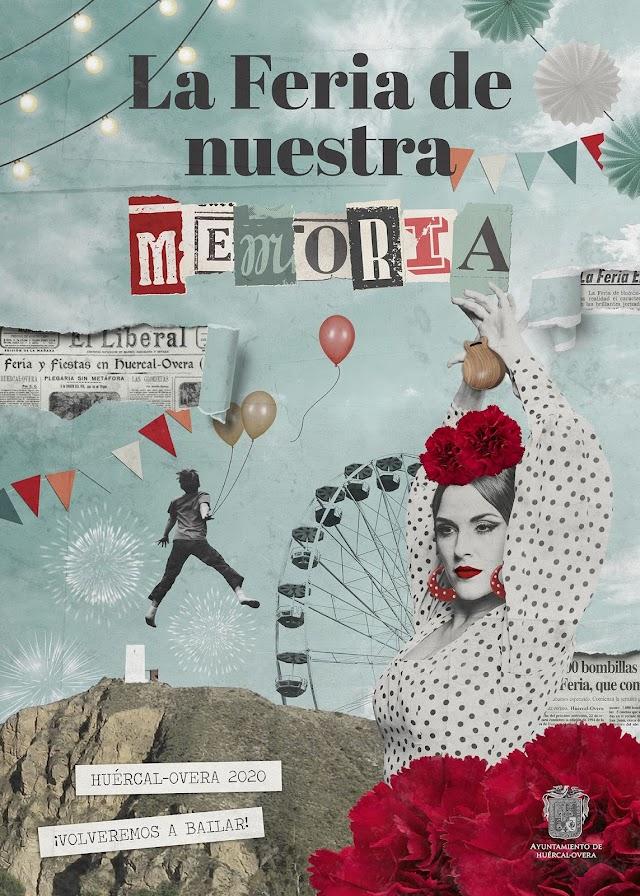 Cartel de las Fiestas hercalenses, la Feria de nuestra memoria.