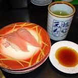 sushi in Nakano in Tokyo, Tokyo, Japan