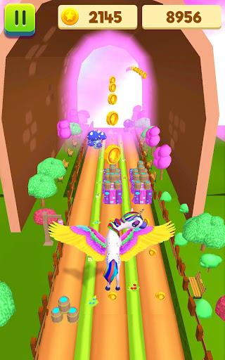 Unicorn Run - Runner Games 2020 filehippodl screenshot 2