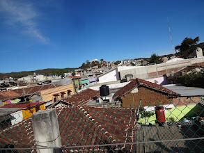 Photo: Den předtim jsme nejspíš v Agua Azul snědli nějaký špatný jídlo koupený od pouličních prodejců, a tak jsme si pobyt vSan Cristóbal de las Casas prodloužili o jeden den. Ono se špatně turistí, když člověk celou noc stráví na záchodě. Ossi k tomu měl i bonusový zvracení.