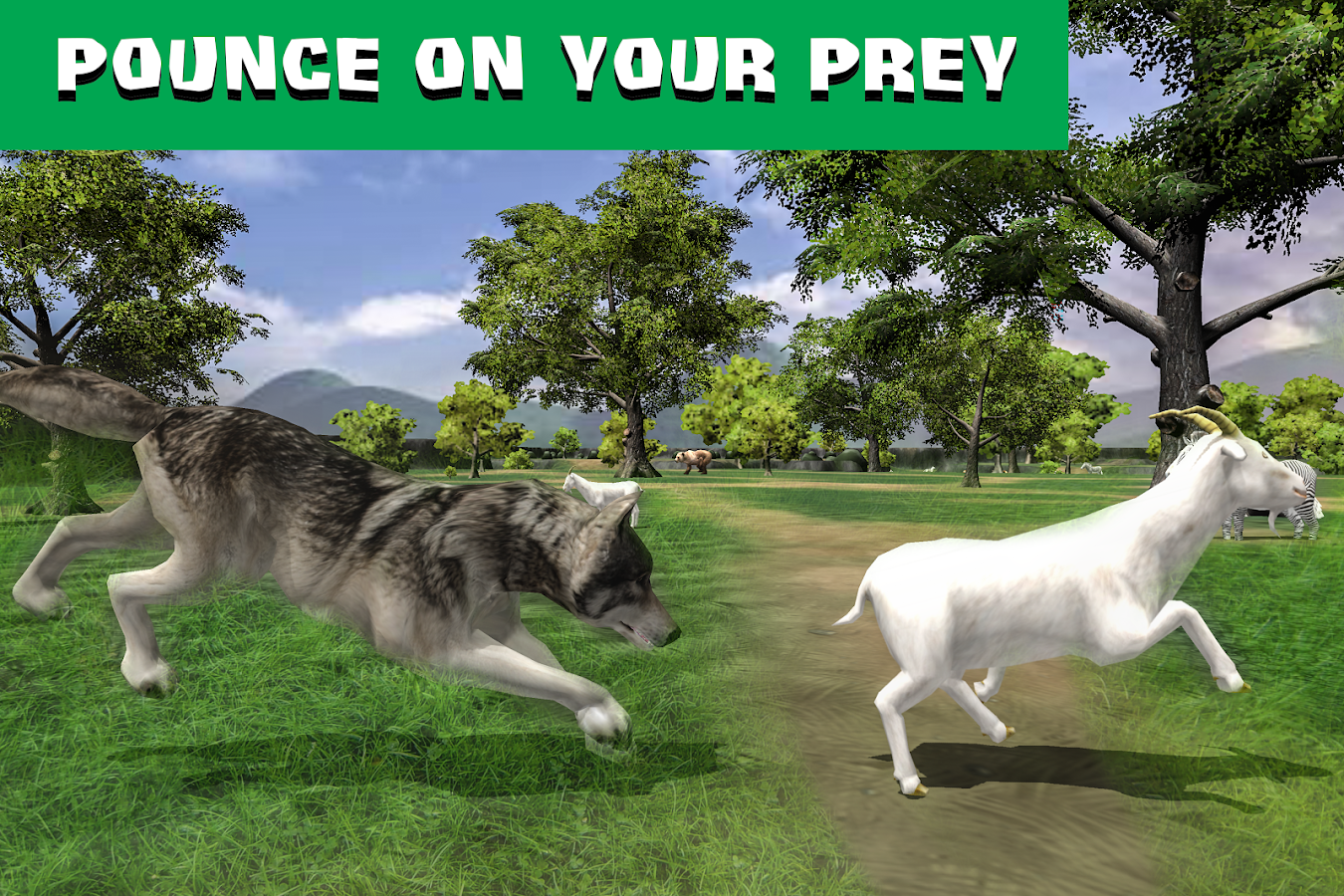 Wolf Quest: Wild Animal Life🐺 Screenshot