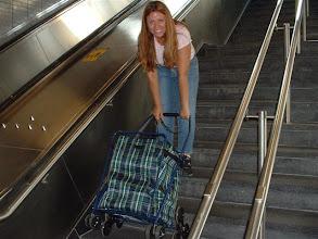 Photo: Pero, es ultra alta tecnologia porque rueda hasta en las escaleras (jajaja)
