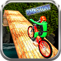 Impossible Tracks Rooftop BMX Bicycle Stunts icon