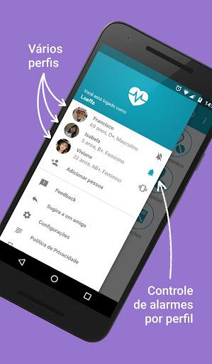 Saude em Dia - Family health manager screenshot 2