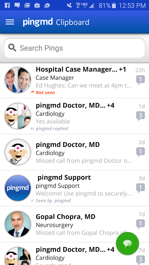 pingmd- screenshot