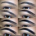 DIY Tutorial Augenbrauen icon