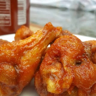 Sriracha-Honey Wings.