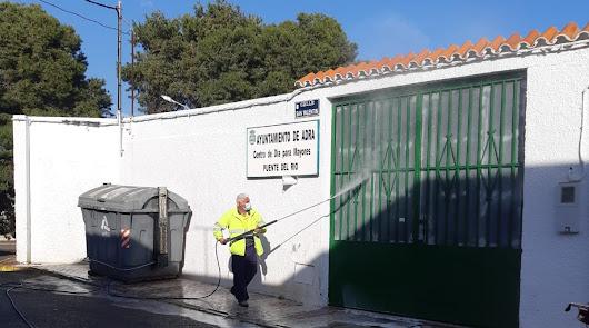 Ayuntamiento de Adra autoriza durante quince días el baldeo de fachadas