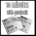 10 minutos Ecuaciones 2º grado icon