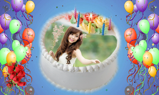 Photos on Birthday Cakes screenshot