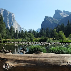 Valley View Yosemite National Park by Diane Dunn - Landscapes Mountains & Hills