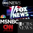 BREAKING NEWS MSNBC Fox CBS CNN ABC News 3.0 icon