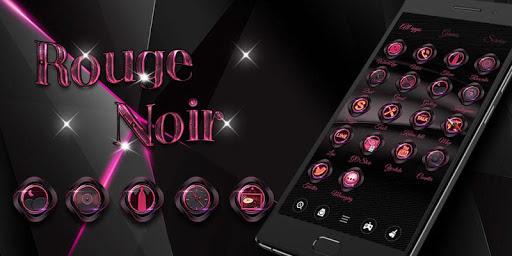 玩免費個人化APP|下載Rouge Noir Go Launcher Theme app不用錢|硬是要APP