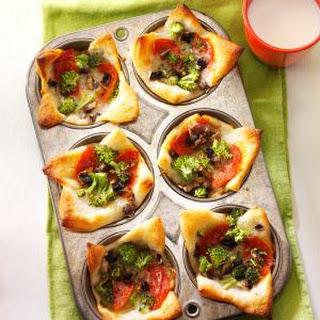 Muffin Tin Pizzas