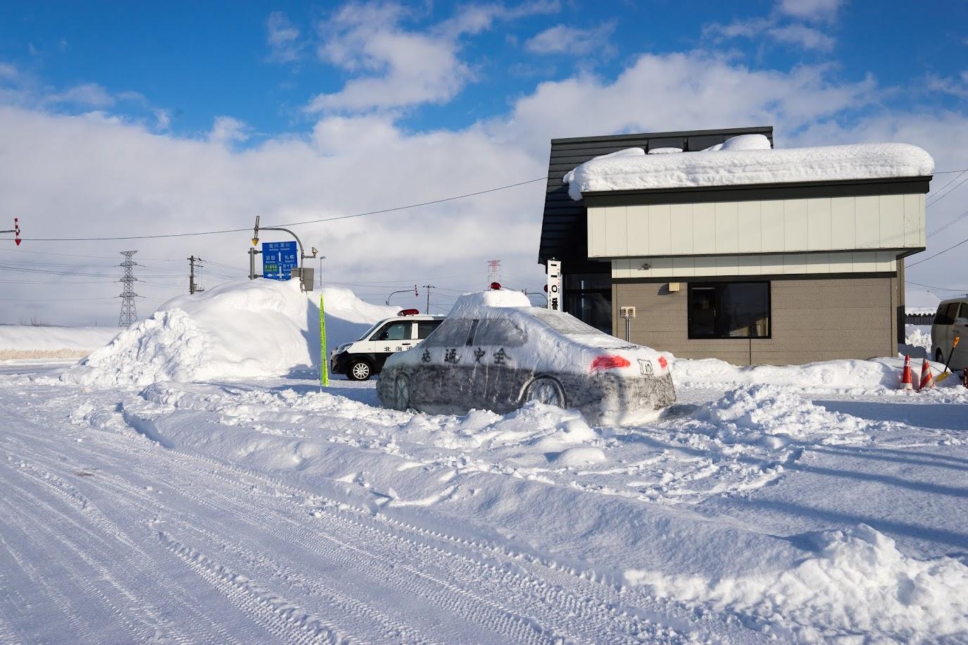 実物大スノーパトカー