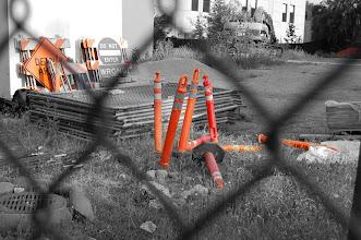 Photo: Construction Orange