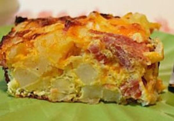 No-fuss Sausage & Potato Bake Recipe