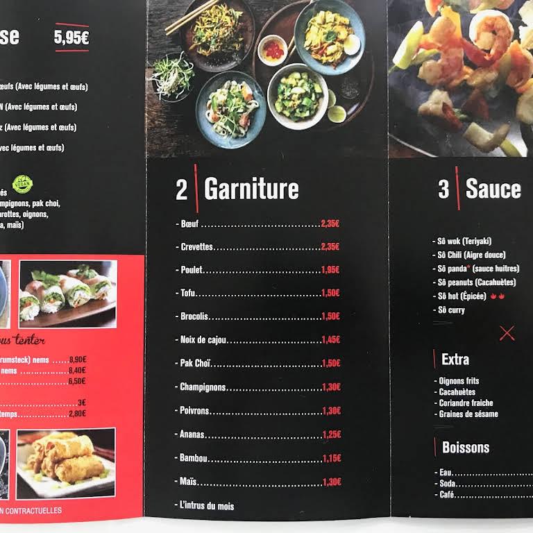 so wok restaurant a albi