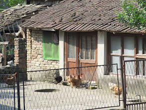 Photo: Day 76 - House & Chickens in Village in Croatia