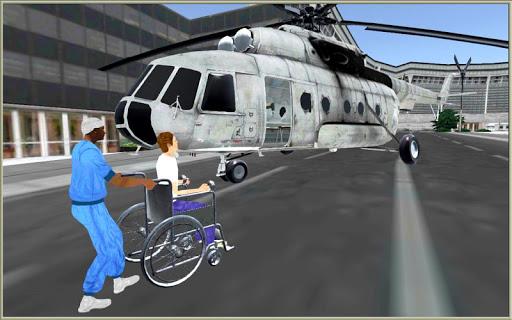 玩模擬App|ヘリコプター 救急車: シティ シム免費|APP試玩