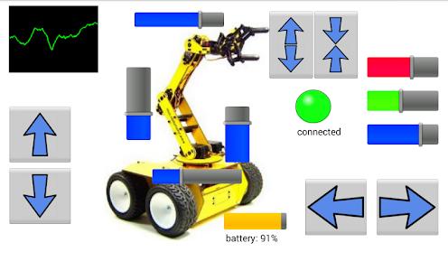 RoboRemo - SPP BLE TCP UDP USB - náhled