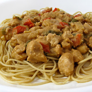 Skinny Chinese Spaghetti with Meat Sauce (Dan Dan Noodles).