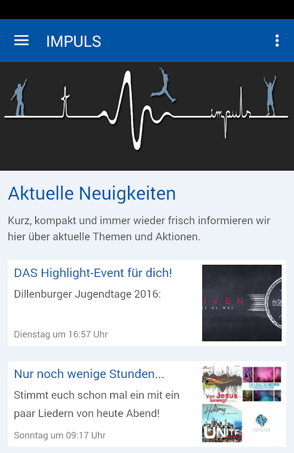Impuls - Jugendgottesdienst- screenshot