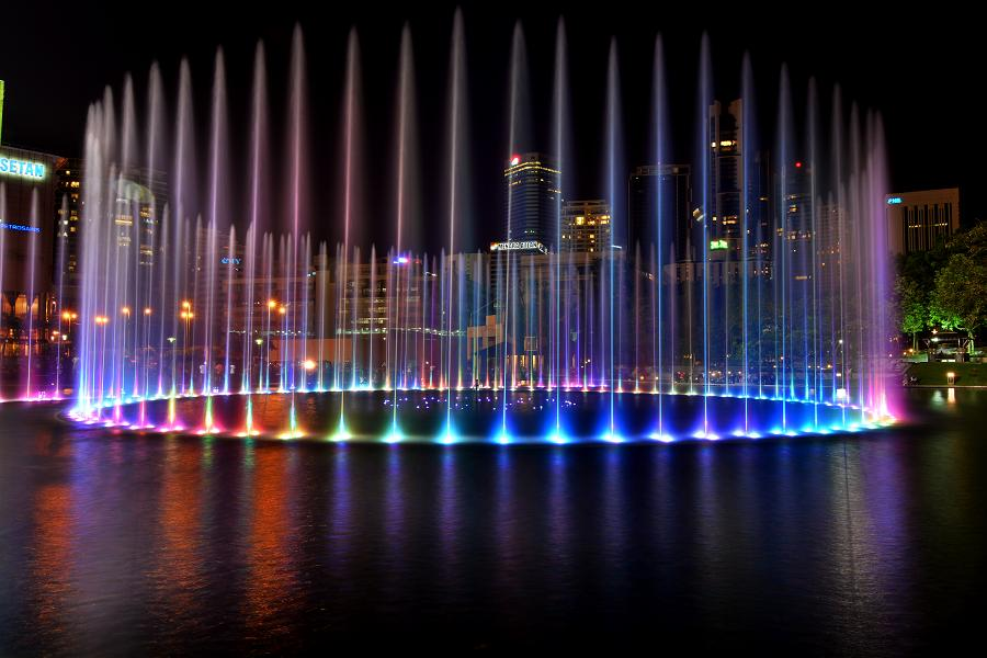 Fountain (Petronas Tower) by Ronald Setiadi - Landscapes Waterscapes