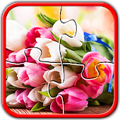Flower Jigsaw Puzzle Game Free