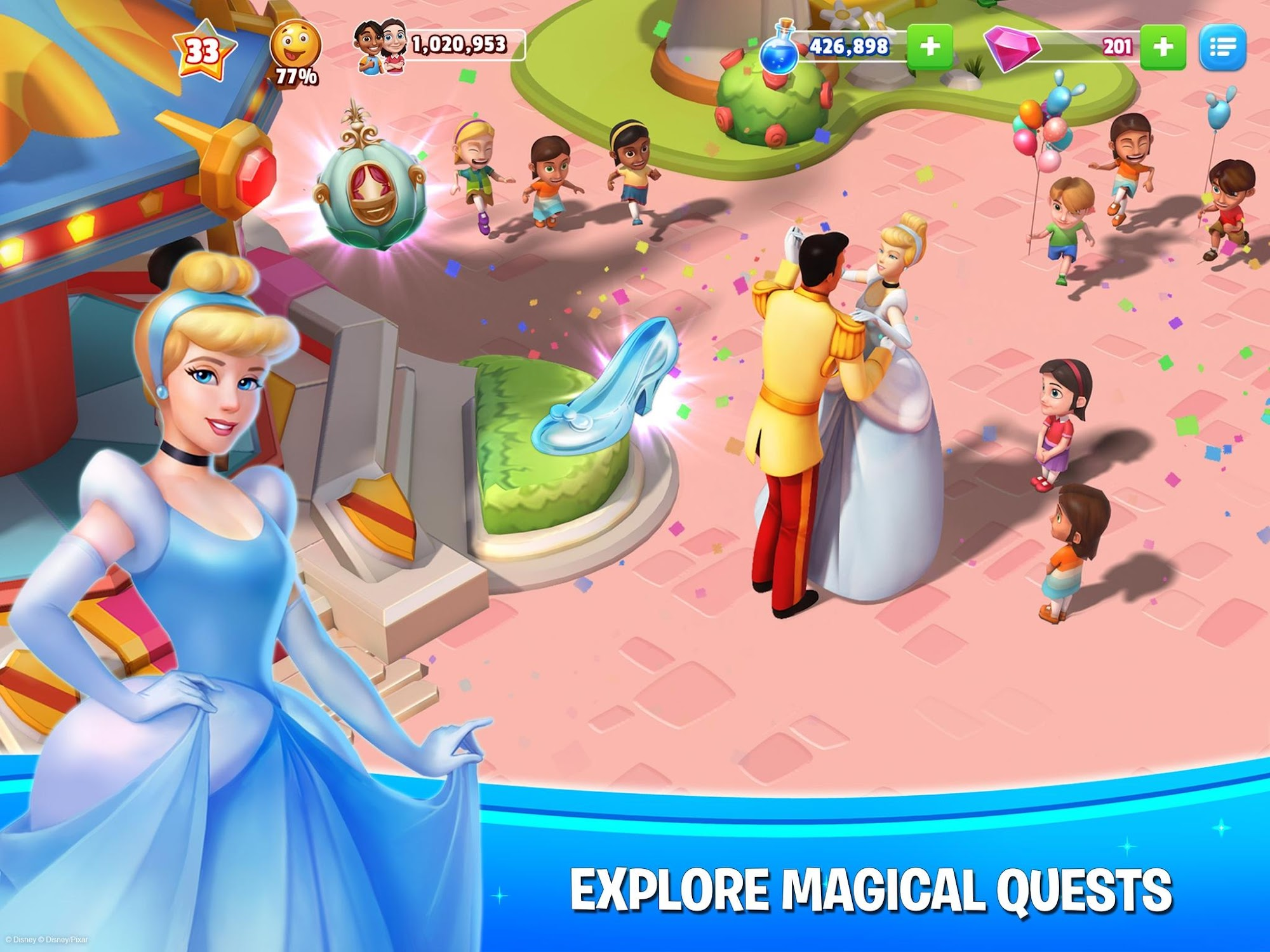 Disney Magic Kingdoms screenshot #2