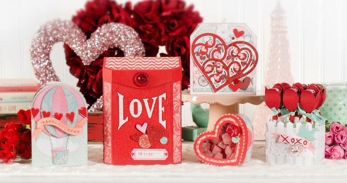 Резултат с изображение за sizzix valentines day