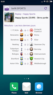 beIN SPORTS Capture d'écran