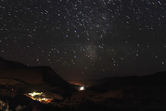 Photo: 10 x 15 second exposures all joined together...