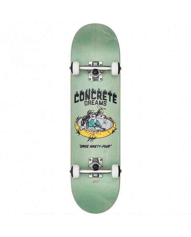 skateboard - Globe concrete dreams mid breeze green 7.6