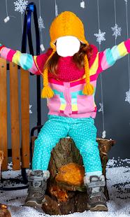 děti fotomontáž - náhled