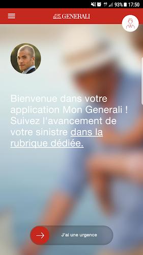 Mon Generali Android App Screenshot