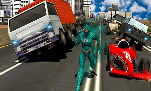 Super Flash Speed Hero vs Gangster Monster Battle - náhled
