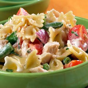 Tuna & Bow Tie Salad