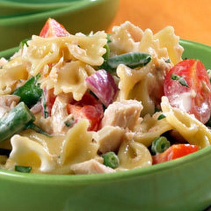 Tuna & Bow Tie Salad Recipe