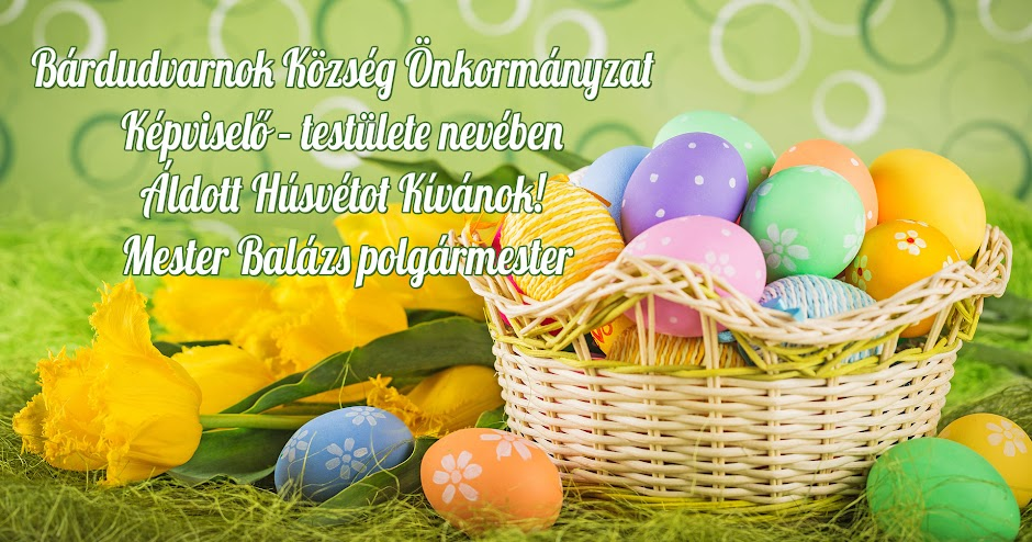 Áldott Húsvétot!