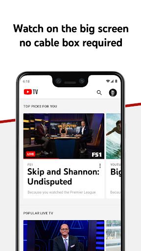 YouTube TV - Watch & Record Live TV 4.33.3 Screenshots 3