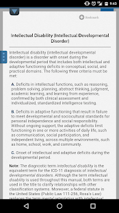 DSM-5 Diagnostic Criteria- screenshot thumbnail