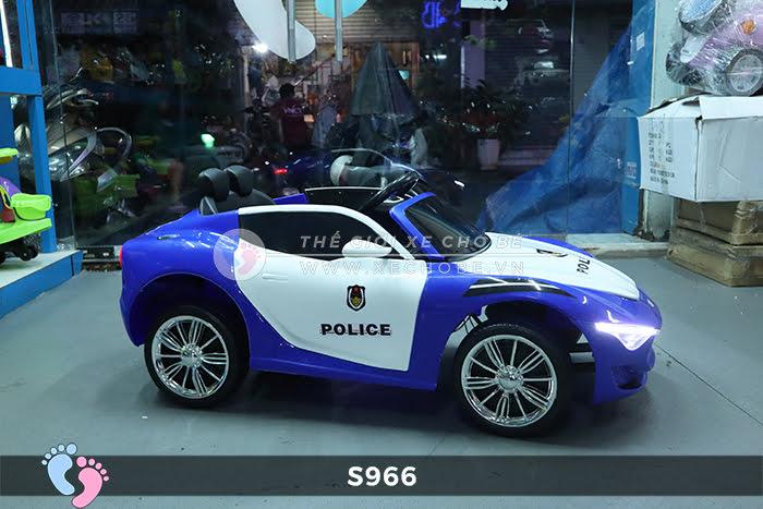 Xe ô tô điện cho bé Police XYS-966 17