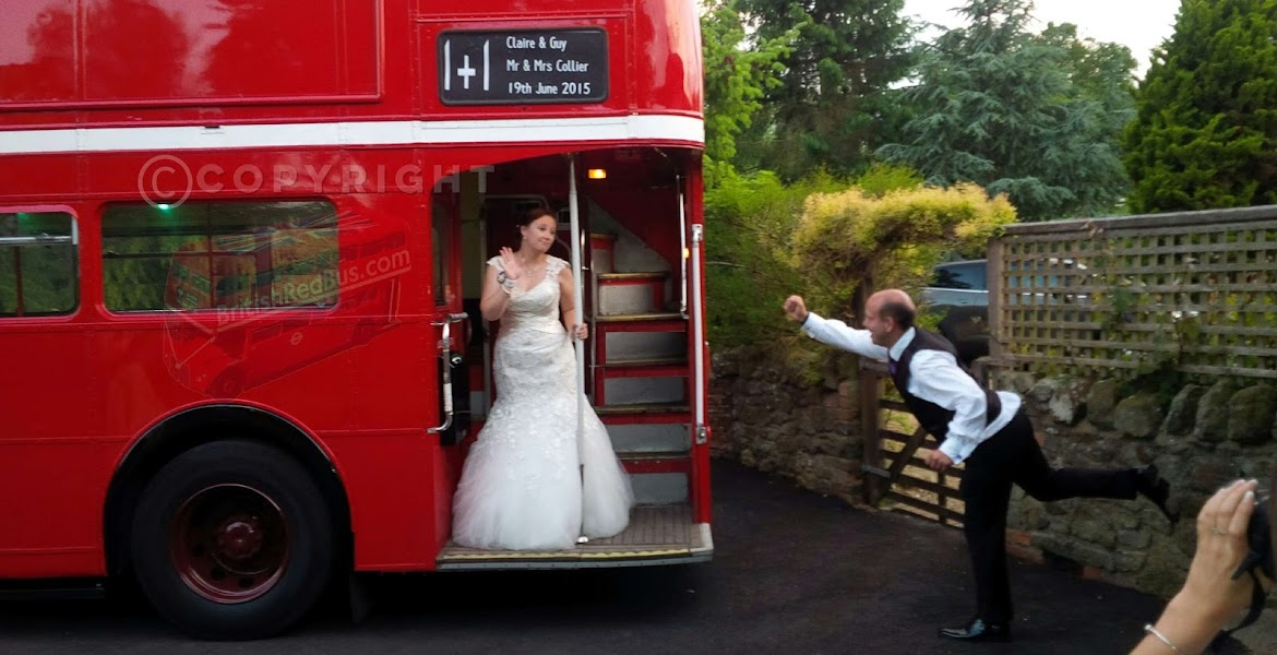 Wedding Vintage Routemaster Bus & Coach Hire Croydon London Surrey Kent