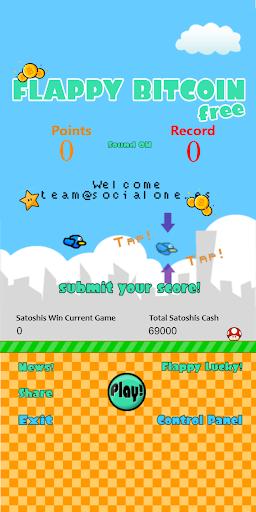 Code Triche Flappy Bitcoin Free - First Bitcoin Game APK MOD (Astuce) screenshots 1