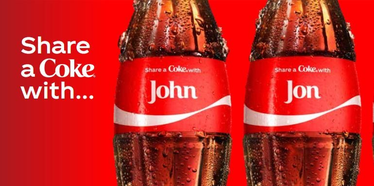 Examples of coke personalized customer experience