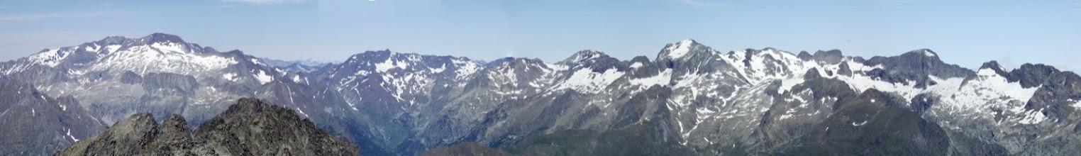 Photo: Des del cim d'Araguells (vista Oest)