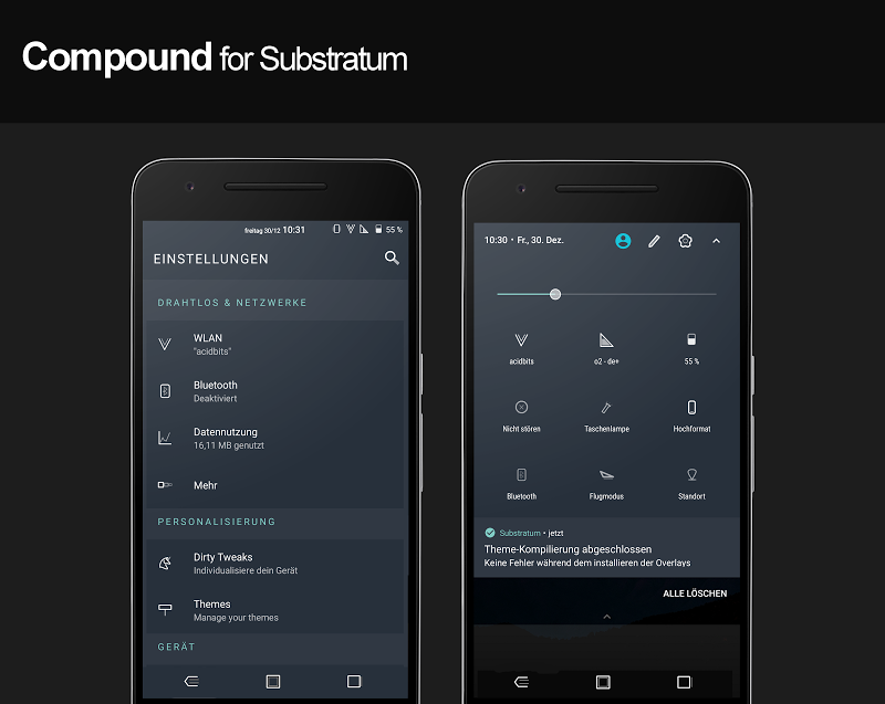 Compound for Substratum (Android Oreo/Nougat) Screenshot 10