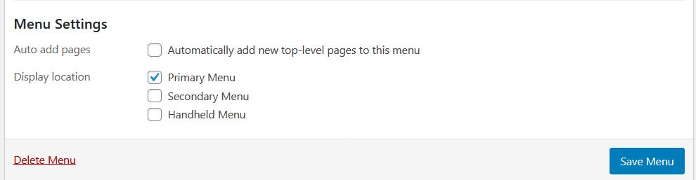 creating dropdown menu in wordpress